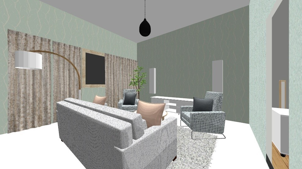 1st flor - Modern - Living room  - by suomi25