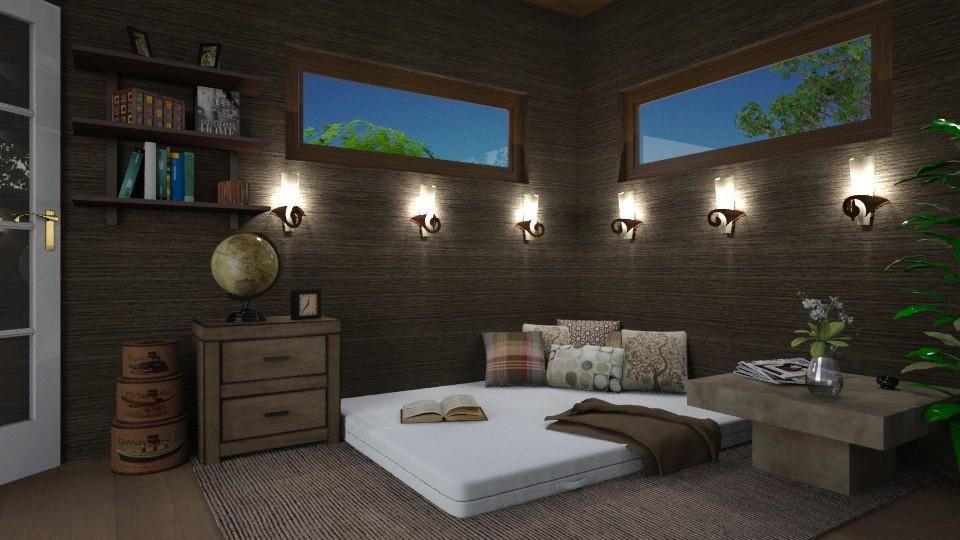 Relax night - Rustic - Bedroom - by ljiljanan
