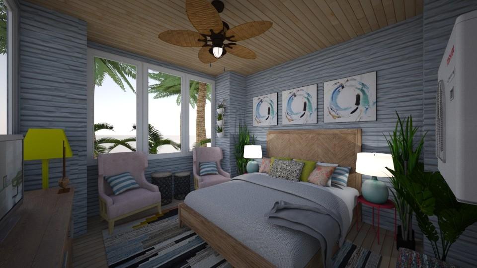 Beach Room - Bedroom  - by DecoMaster5