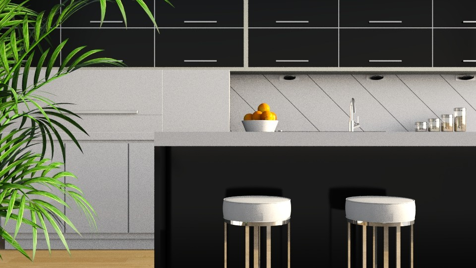 Gloss Black - Modern - Kitchen  - by stephendesign