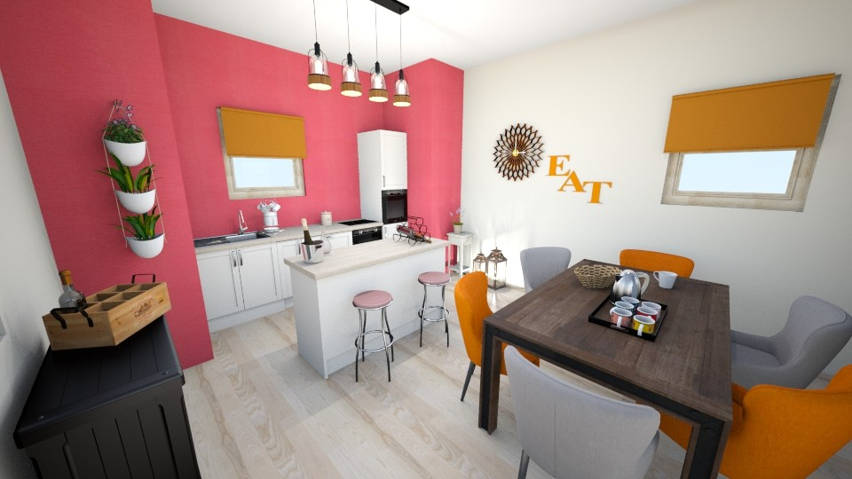 Bright Kitchen - Kitchen  - by CarolinaB
