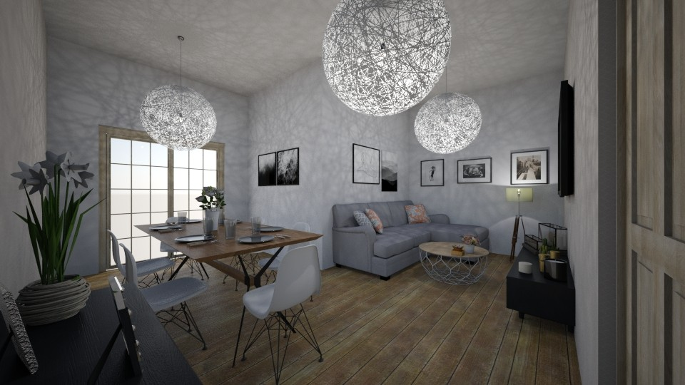 4 - Living room - by sylwia123