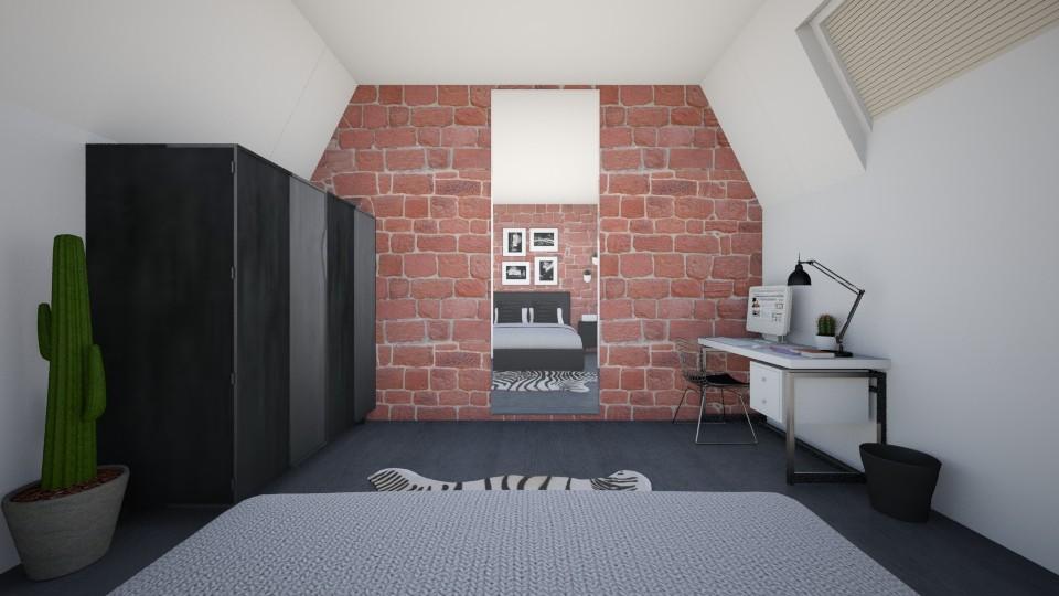1 - Bedroom - by lindseyromee