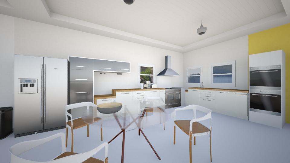 kitchen view 1 Big room - Kitchen - by Masha Melnik