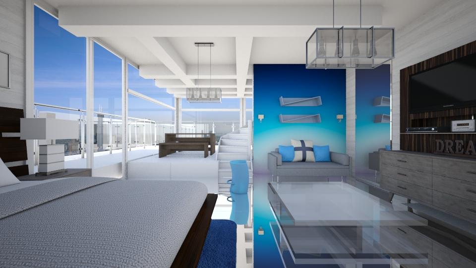 Skyline Room - Bedroom - by lauracopey