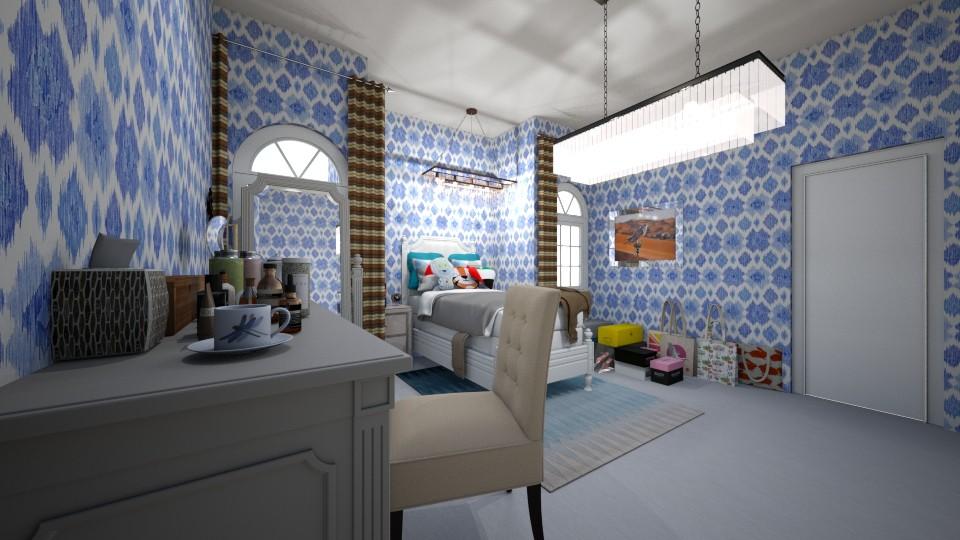 bedroom - Bedroom - by yukicrossnowblood