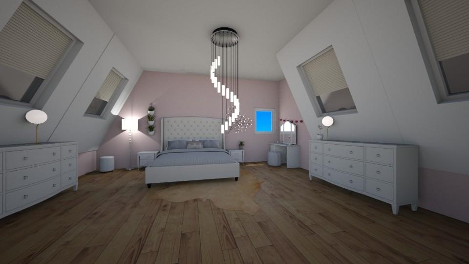 attic bedroom - Bedroom  - by 16phowarthx