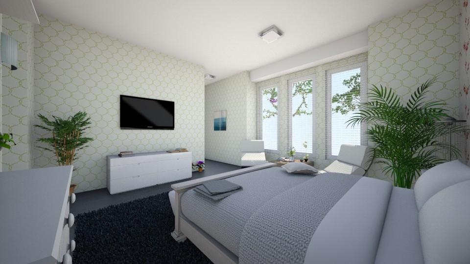 room room - Bedroom - by Lucy Miranda