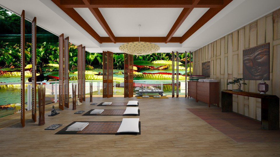 Zen yoga 2 - by Themis Aline Calcavecchia