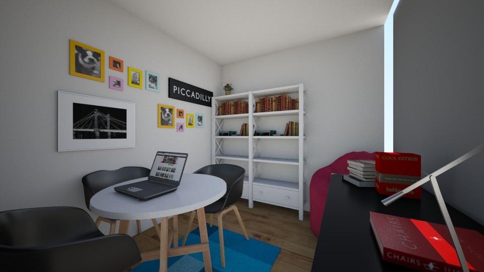 projeto sala de lazer es - Modern - by Polly Camponeis