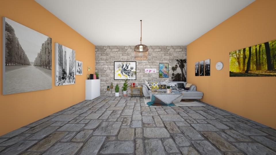 love - Living room - by Deni star