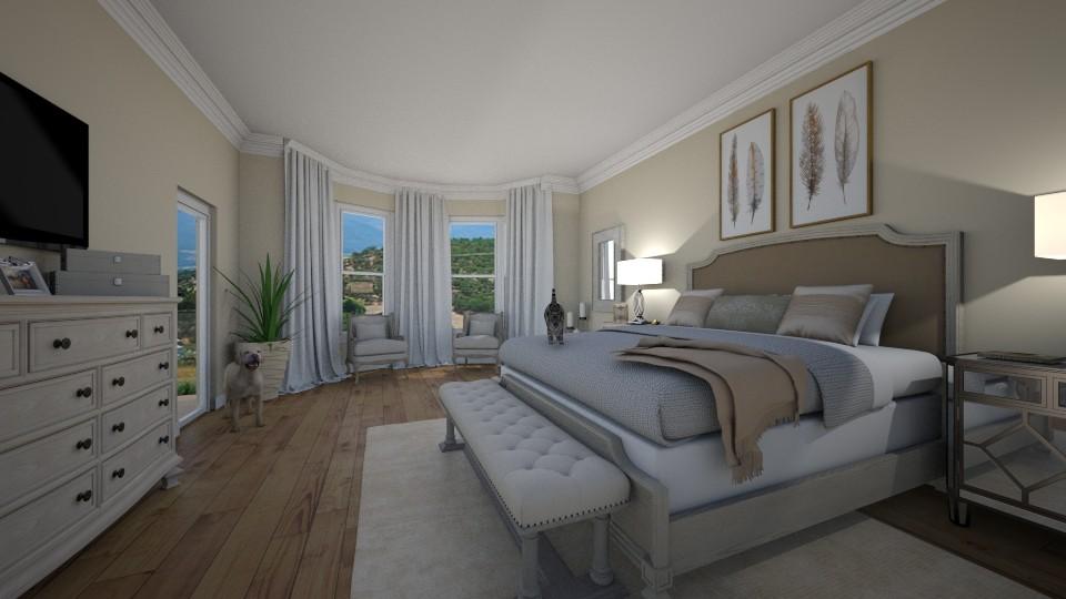 Tan Bedroom - by makaylamehrens