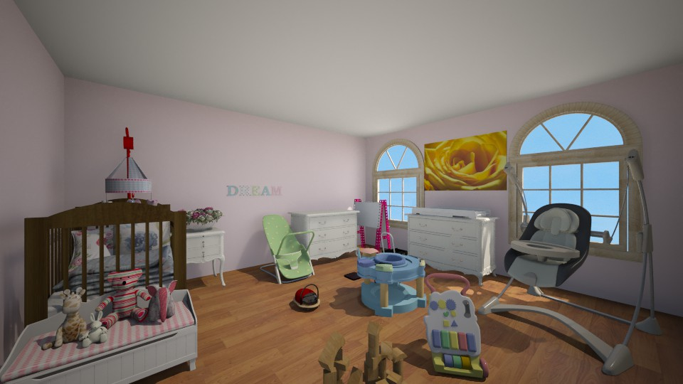 Nursery - Bedroom - by Jessica Lyn
