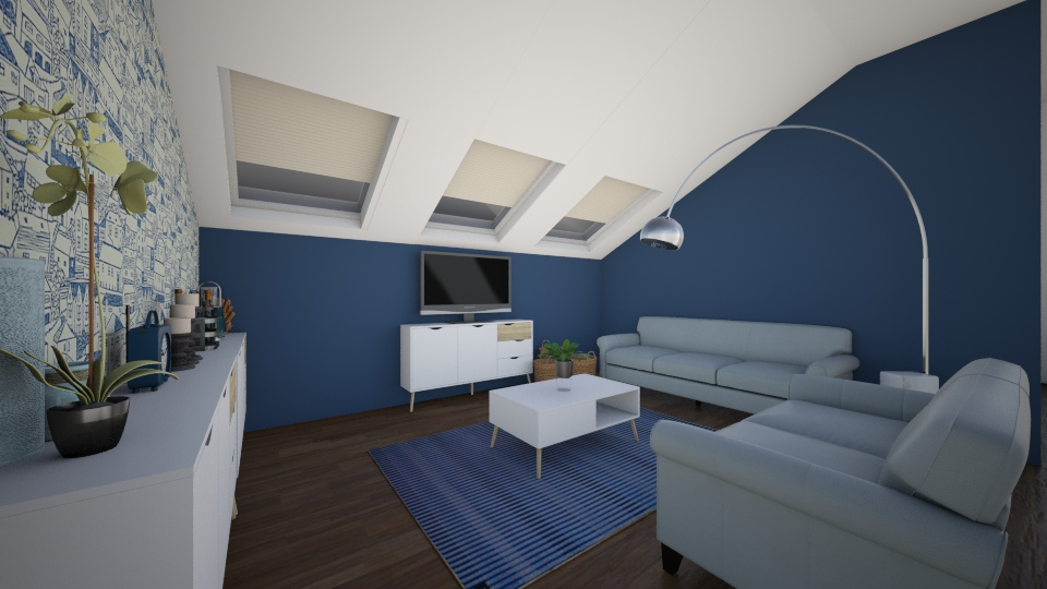attic appartment - Modern - by designer210