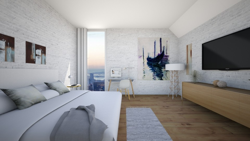 Bedroom - Bedroom - by jadastratman