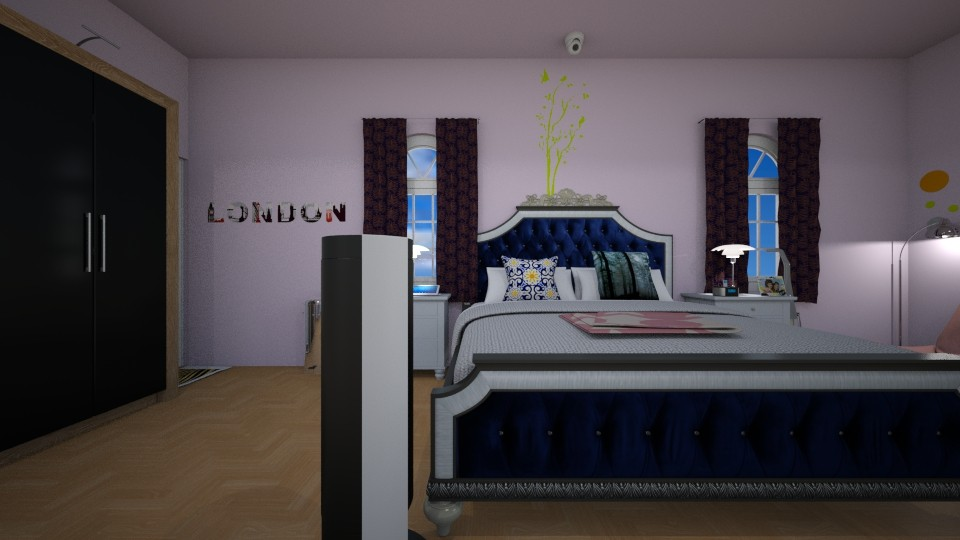 My Ideal Bedroom  - Bedroom  - by chronostyler721