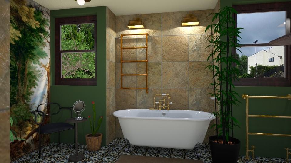 Classic cosy bathroom 6 - Classic - Bathroom  - by macus