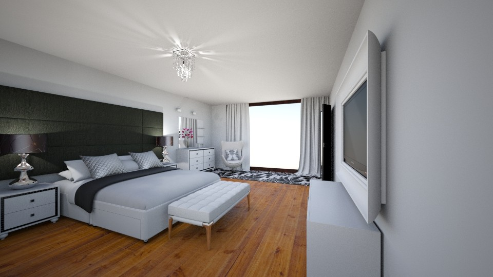 dormitorio - by grettamilussich