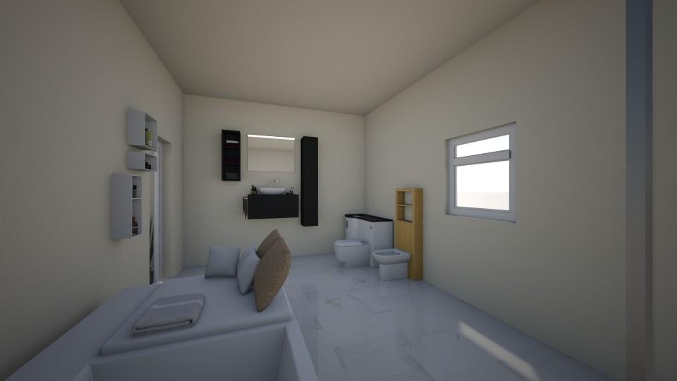 my home - Modern - Bathroom  - by RollPinkEra