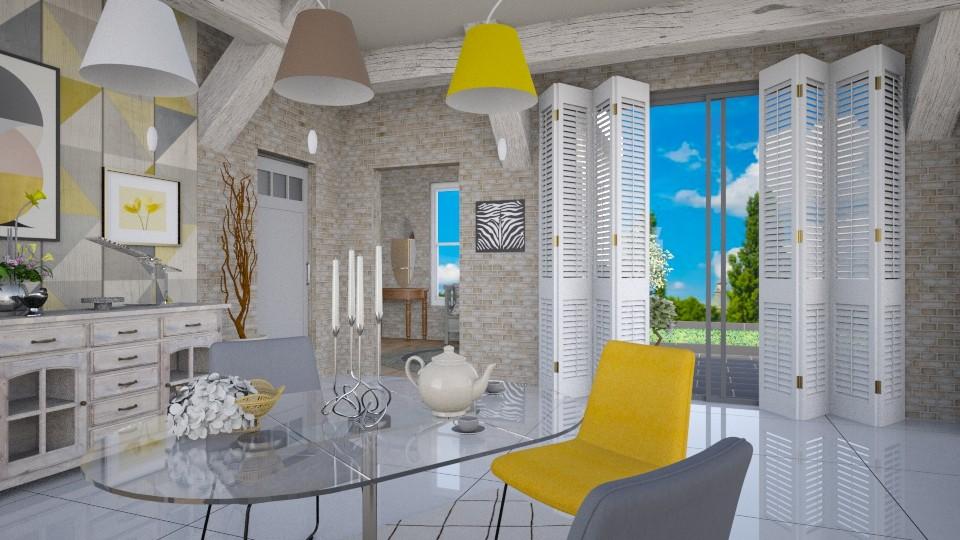 House _ Dining - by ZsuzsannaCs