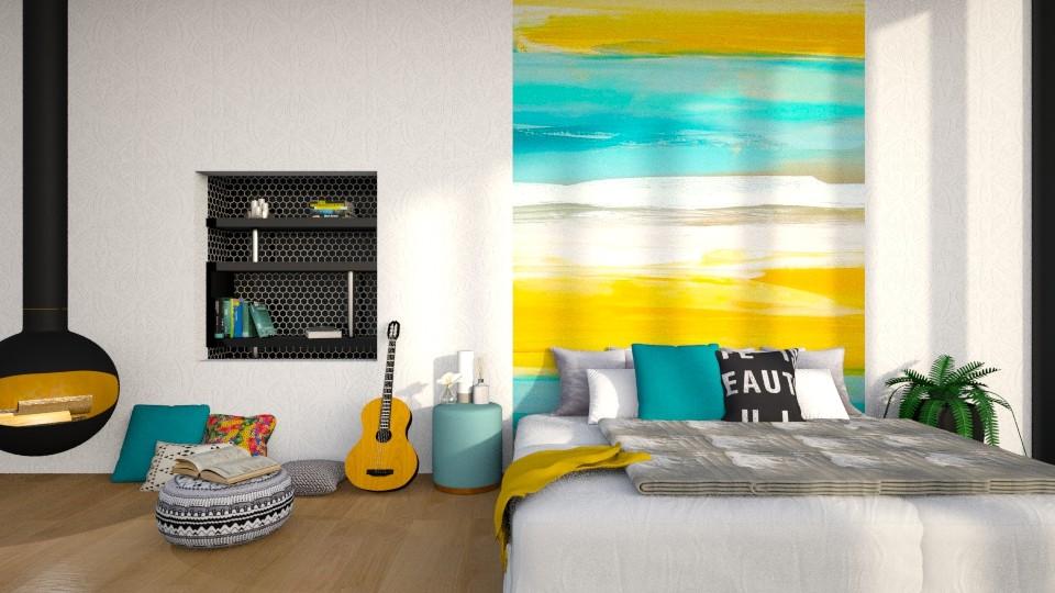 Maximal Mural - Bedroom - by Asha_Shade