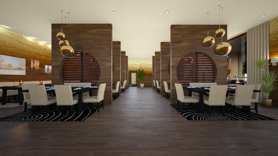 Restaurant 3 - by Design By Aafira