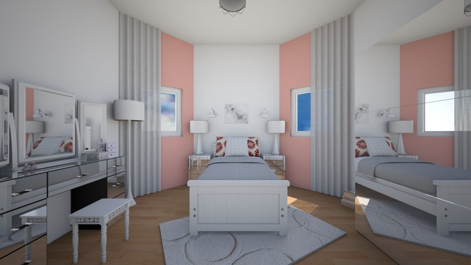 fresh bedroom - Bedroom - by aila auk