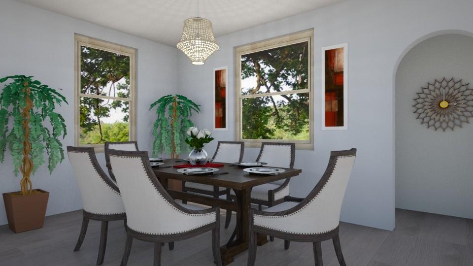 Dining Room 1 - by inkblot01