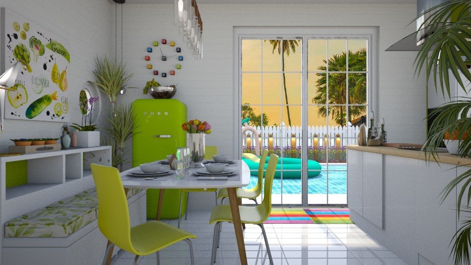 SOMETHING PLAYFUL - Kitchen - by KC Pechangco