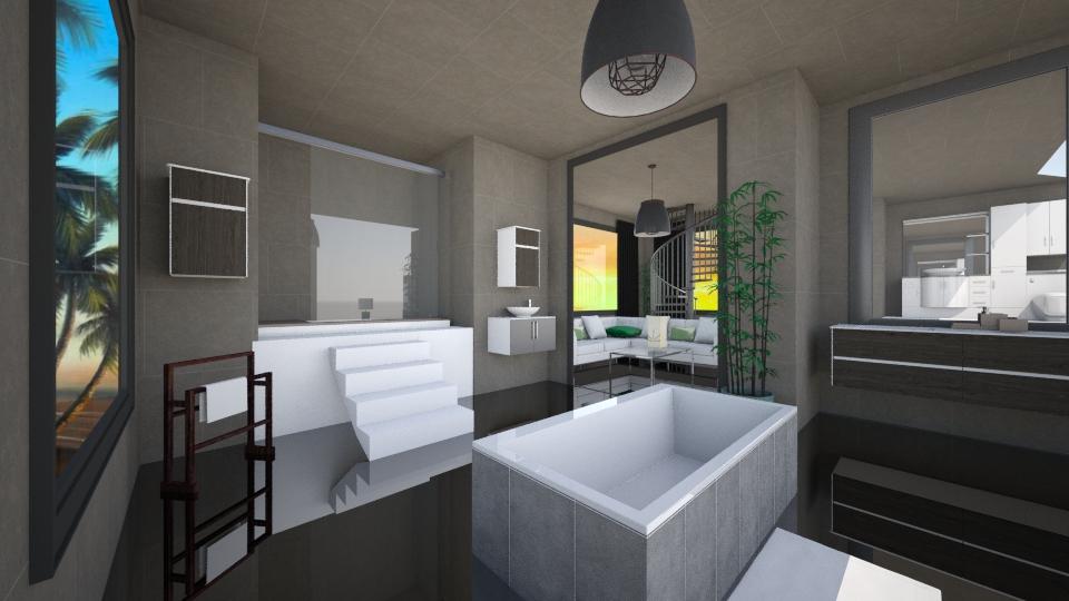 Bamboo Bathroom - Bathroom - by lauracopey