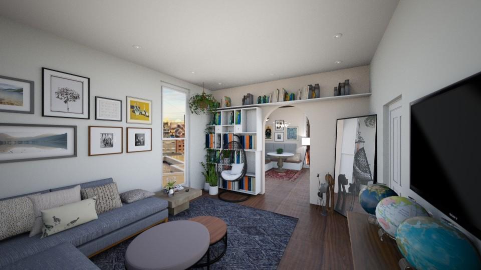 Simple Living - Living room - by mrsbadazz2016