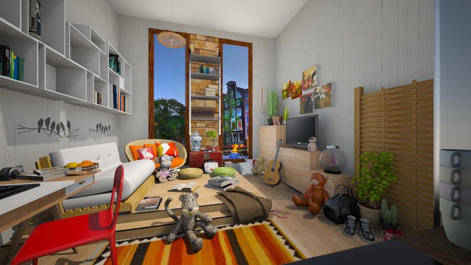 CC - Living room - by aleya