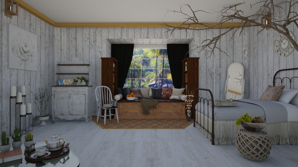 Shabby Room - Classic - by Art_Decoration