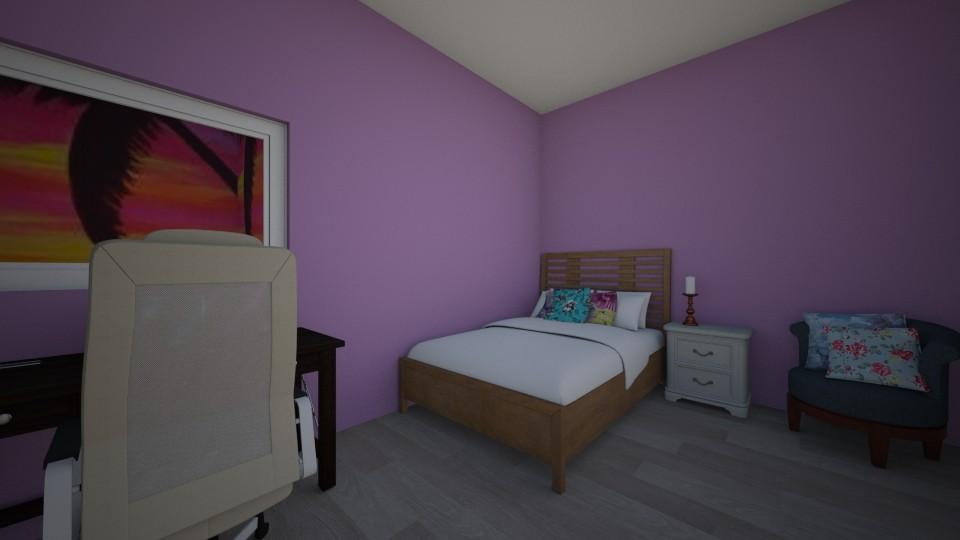 teen bedroom - Bedroom - by LuckyVicky