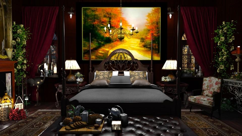 Mood - Vintage - Bedroom  - by LuzMa HL