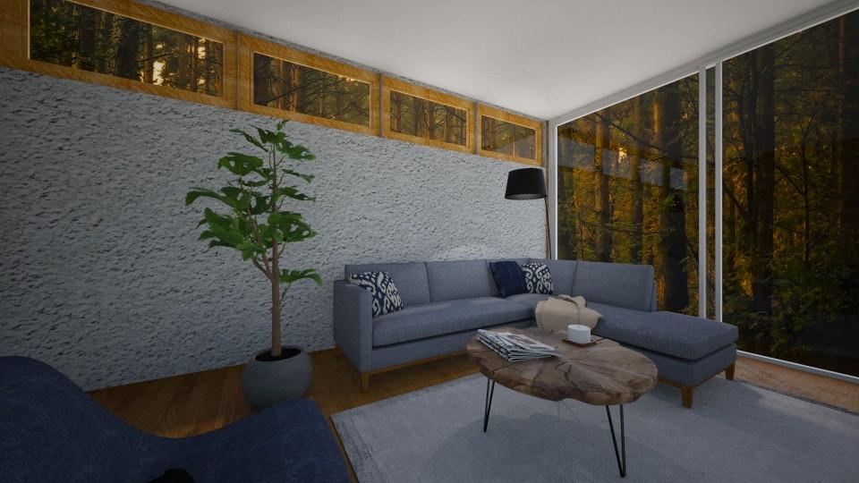 Living Room 1 - Modern - Living room - by nazlazzhra