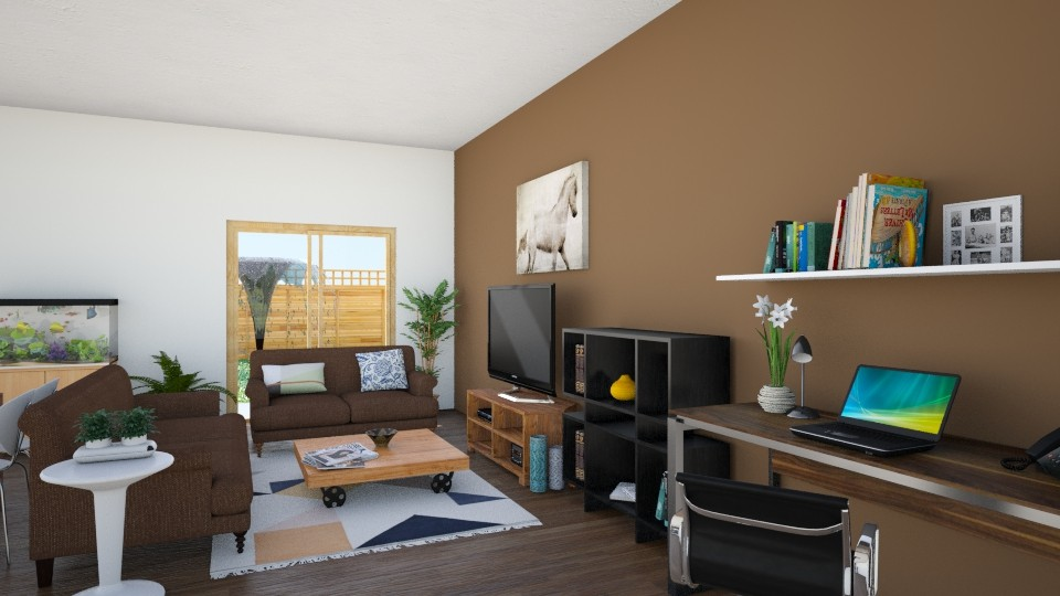 All About Shapes - Modern - Living room - by dreamerana