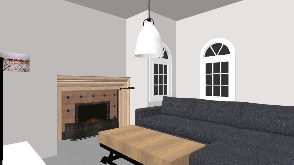 WOONKAMER KEUKEN  - Modern - Living room  - by ANGELOTUMMINO