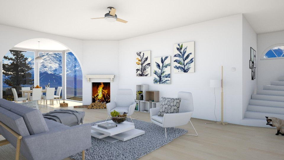 Norway - Living room - by agapka