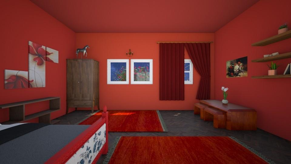 small bedroom - Bedroom  - by Yuukii