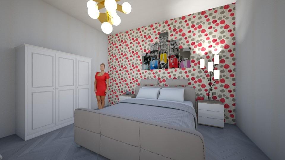 Dhome gjumi - Modern - Bedroom - by Egzona Ramadani