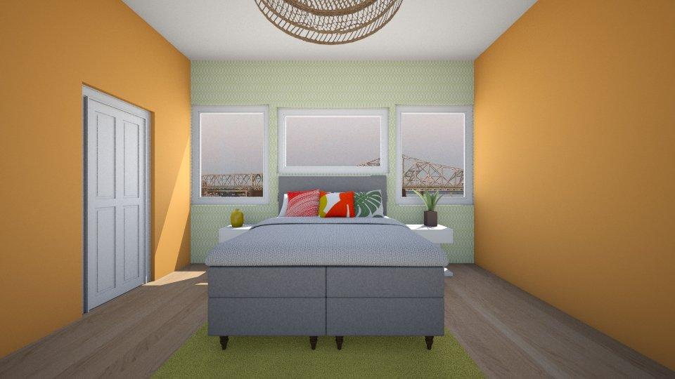 bedroom - Modern - Bedroom  - by Love dogs 111