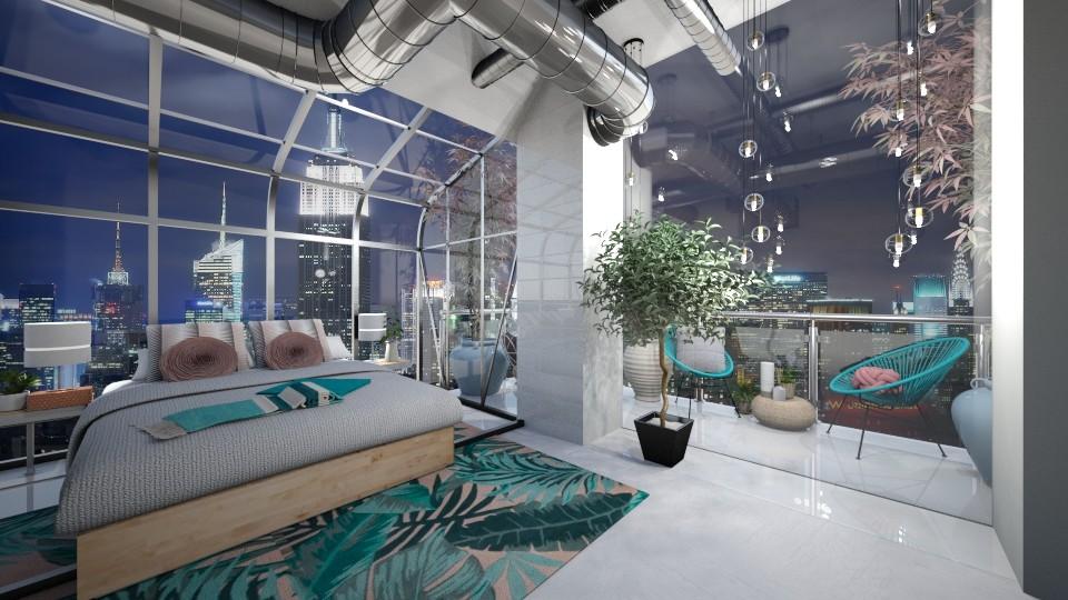 home and garden - Bedroom - by Fruuzs
