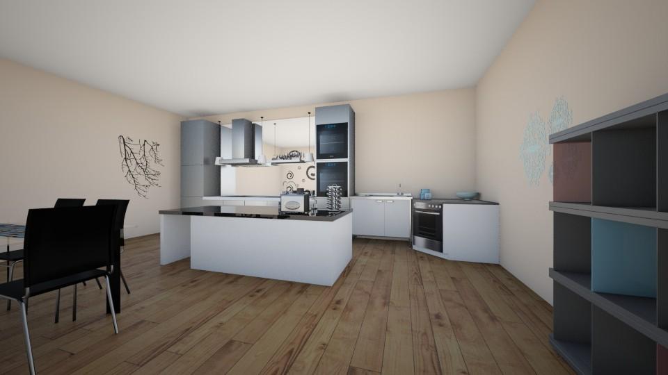 5 - Kitchen - by Domenica Molina