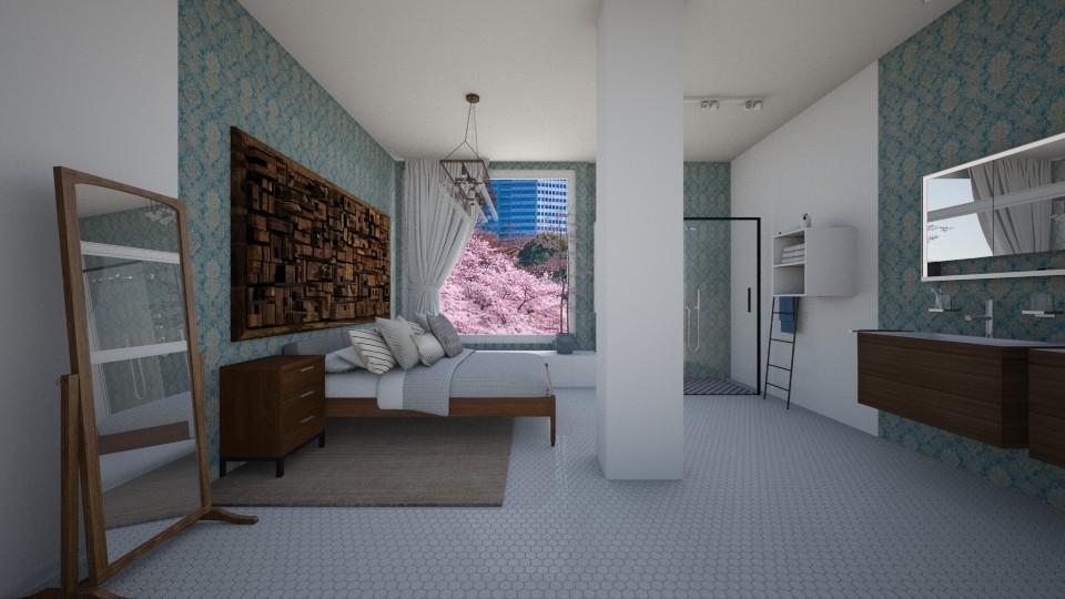 MASTER SUIT - Bathroom - by Jadee_