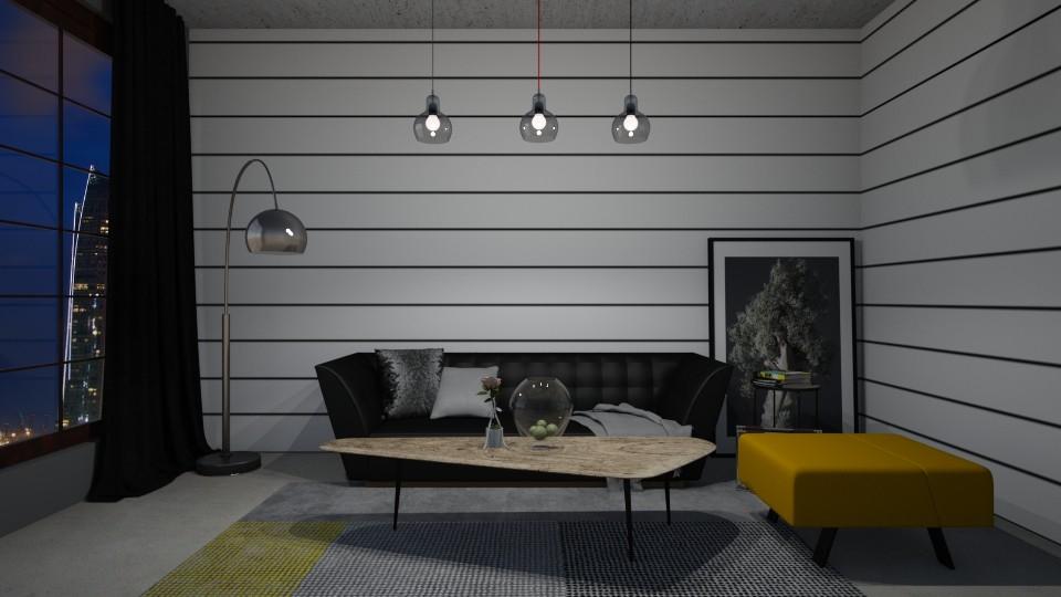 Stripped interior - by Mihailovikj Mimi