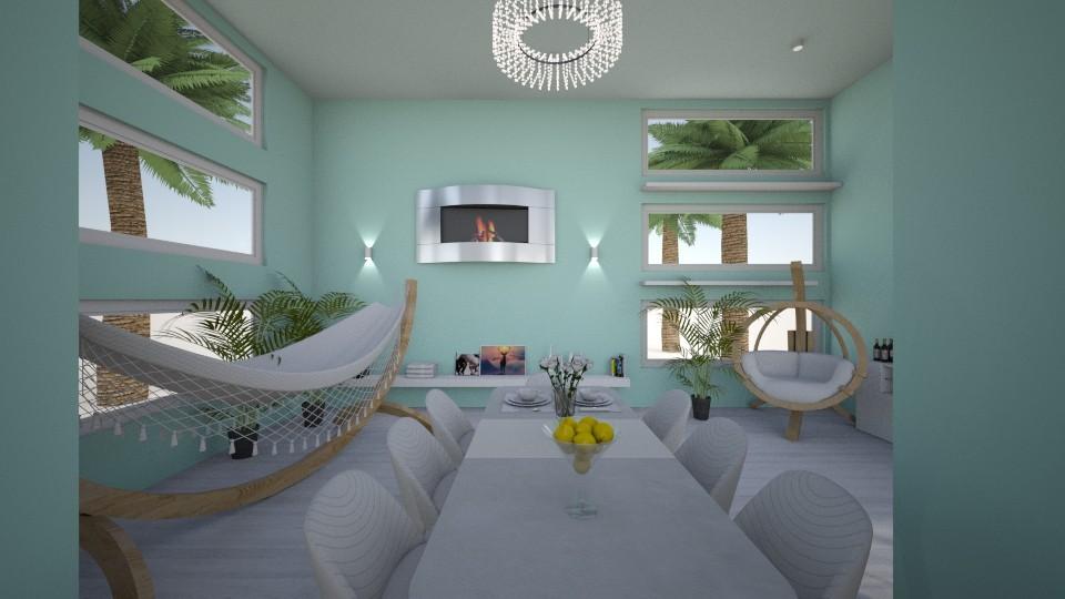 Beach - Dining room  - by EmilyTJ03