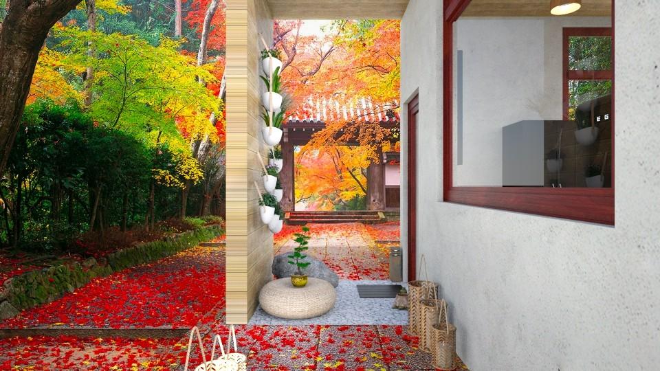 Asian Garden - Modern - Garden - by seufri