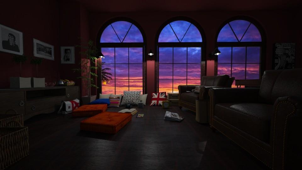 ff - Vintage - Living room  - by raissasevero