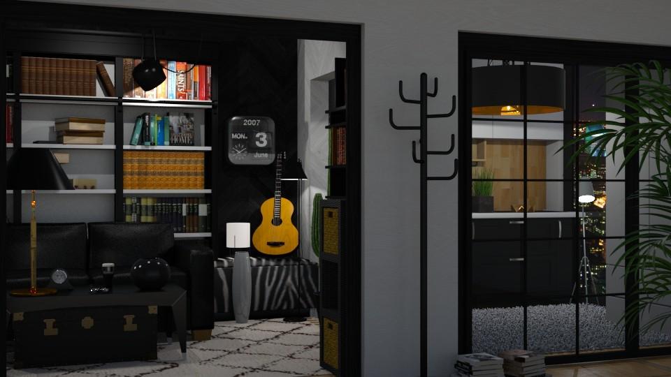 Intellectual - Modern - Living room - by RedPandaRooms